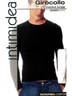 Мужская футболка Intimidea Uomo T-Shirt Girocollo Manica Lunga