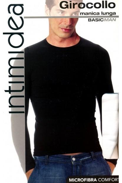 Мужская футболка лонгслив Intimidea Uomo T-Shirt Girocollo Manica Lunga - фото 1