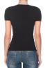 Женская однотонная бесшовная футболка с глубоким v-вырезом INTIMIDEA PHILADELPHIA - фото 3