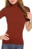 Женская бесшовная водолазка с коротким рукавом INTIMIDEA CHARLOTTE - фото 9