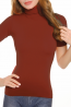Женская бесшовная водолазка с коротким рукавом INTIMIDEA CHARLOTTE - фото 10