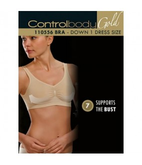 Трусы Control Body Reggiseno Gold