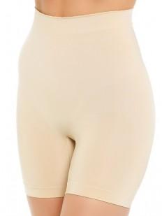 Корректирующие женские атласные трусы панталоны с высокой посадкой