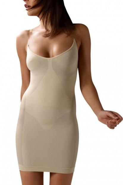 Моделирующее платье-грация со съемными бретелями Control Body Sottoveste Plus - фото 1