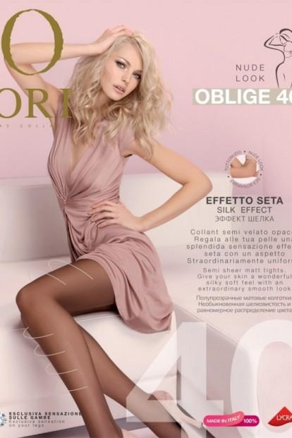 Классические матовые колготки ORI OBLIGE 40 - фото 1