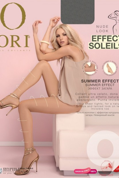 Летние матовые колготки с эффектом вуали ORI EFFECT SOLEIL 9 - фото 1