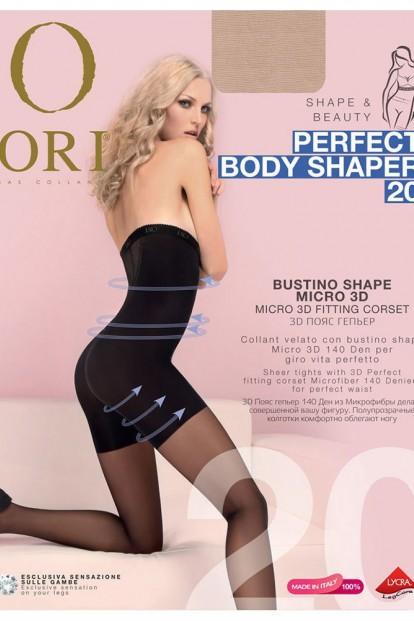 Высокие утягивающие колготки ORI PERFECT BODY SHAPER 20 - фото 1