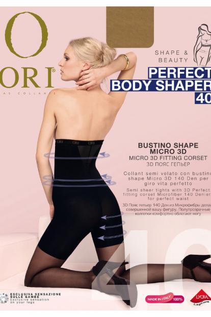 Высокие утягивающие колготки ORI PERFECT BODY SHAPER 40 - фото 1