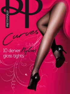 Колготки Pretty Polly Curves 10 den Nylon/App6