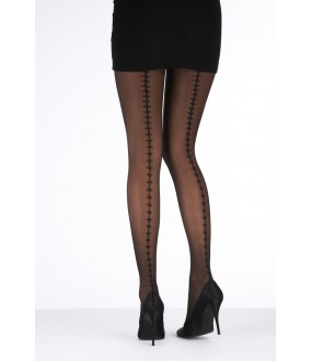 Колготки Pretty Polly Fashion Tights With Clover Beackseam/Arf6