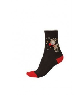 Носки Pretty Polly Reindeer pom/AVC4