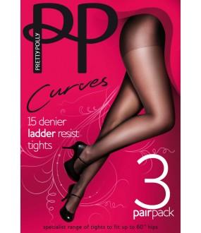 Колготки Pretty Polly Curves 15 den Ladder Resist 3Pp/Gk30