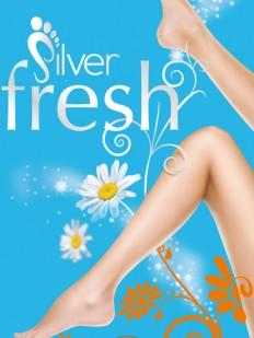 Носки Pretty Polly Silver fresh ankle highs 3PP/GZ14