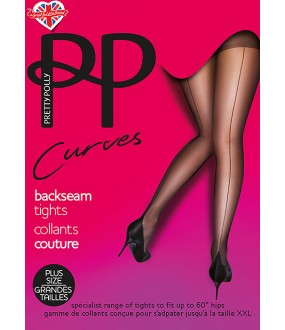 Колготки Pretty Polly Curves Backseam/Aun5