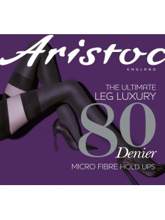 Классические чулки Aristoc 80 Den microfiber Opaque hold ups