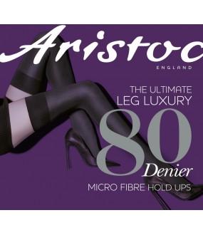 Чулки Aristoc 80 Den microfiber Opaque hold ups/ASL2
