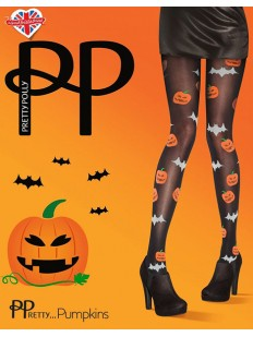 Цветные колготки на Хеллоуин Pretty Polly PUMPKINS