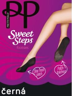 Антибактериальные подследники Pretty Polly SWEET STEPS ATP3