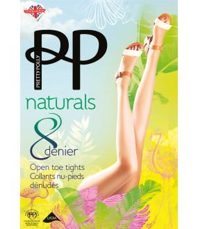 Колготки Pretty Polly Naturals 8 den Open Toe/Apa6