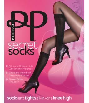 Колготки Pretty Polly Secret Socks/AQS8