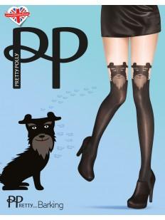 Фантазийные колготки с имитацией Pretty Polly BARKING