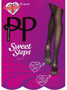 Классические колготки с патчем Pretty Polly SWEET STEPS