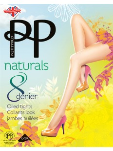 Колготки Pretty Polly Naturals 8 den Oiled/Apa7