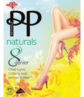 Колготки Pretty Polly Naturals 8 den Oiled/Apa7