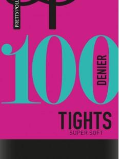 Теплые матовые колготки 100 ден Pretty Polly TIGHTS