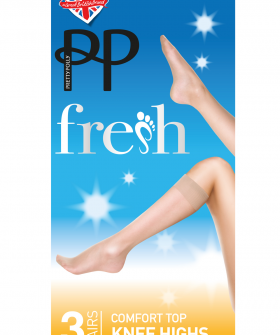 Гольфы Pretty Polly Silver fresh knee highs 3PP/GM95