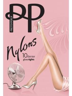 Блестящие летние колготки Pretty Polly NYLONS GLOSS