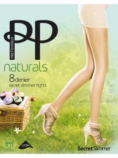 Колготки Pretty Polly Naturals 8 den Secret Slimmer/Apa8
