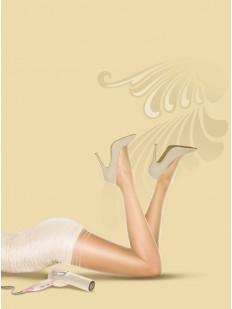 Блестящие летние колготки Pretty Polly NYLONS GLOSS SECRET SLIMMER