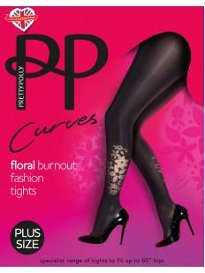 Колготки с рисунком Pretty Polly Curves Floral