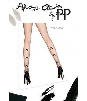 Колготки Pretty Polly Fishnet Tights With Bow Backseam/Atf1