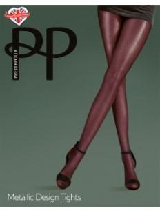 Цветные колготки Pretty Polly Metallic Design
