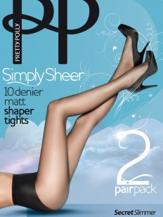 Колготки Pretty Polly Simple Sheer 10 den Matt Shaper 2Pp/Epa2