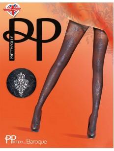Фантазийные колготки со стразами Pretty Polly BAROQUE