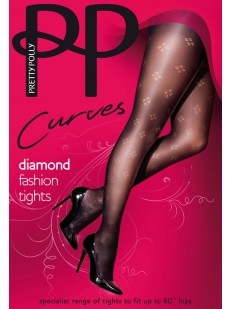 Колготки Pretty Polly Curves Diamond Fashion