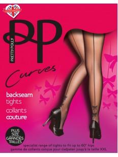 Колготки Pretty Polly Curves Bow Backseam