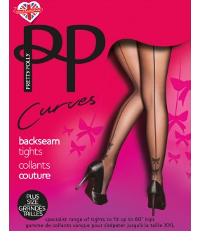 Колготки Pretty Polly Curves Bow Backseam/Ary8