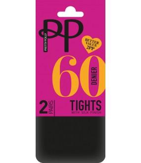 Колготки Pretty Polly 60 den Opaque 2Pp/Erm5
