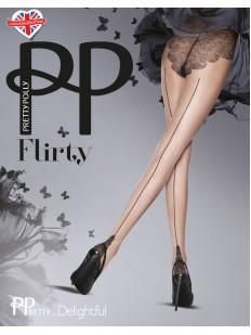 Колготки со швом Pretty Polly Delightful