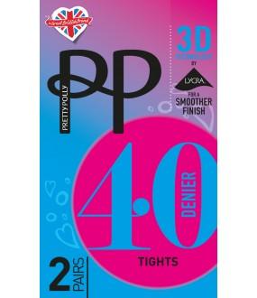 Колготки Pretty Polly 40 den 3D Opaque 2/Etg4