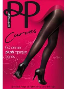 Классические матовые колготки XL Pretty Polly CURVES PLUSH OPAQUE