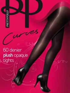 Колготки Pretty Polly Curves 60 den Plush Opaque/App5