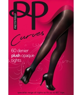 Колготки Pretty Polly Curves 60 den plush opaque/APP5