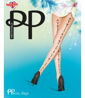Колготки Pretty Polly Key Backseam/Asw8