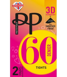 Колготки Pretty Polly 60 den 3D Opaque 2Pp/Etg5
