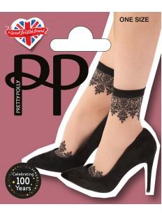 Оригинальные женские нейлоновые носки с узором в стиле татуировок